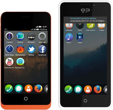 Mozilla-puhelimet