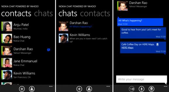 Nokia Chat Lumia Windows Phone