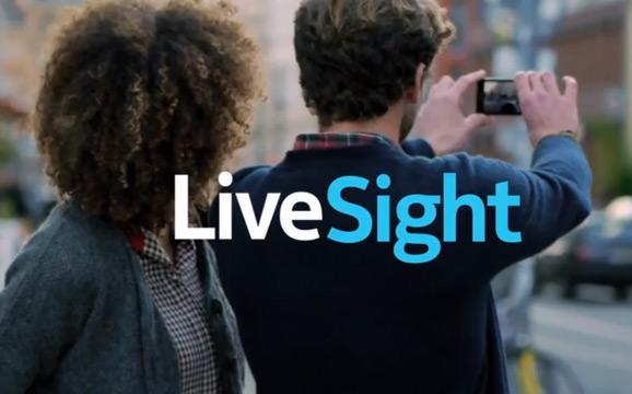 Nokia Here Maps, LiveSight