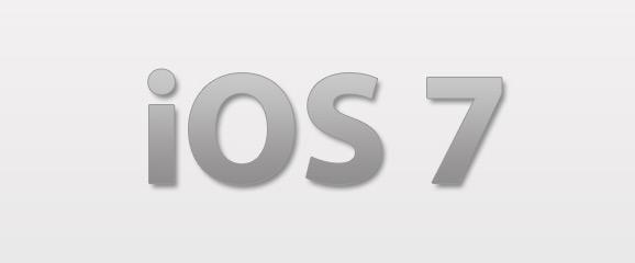 iOS 7 konsepti