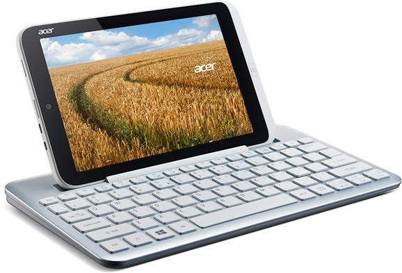 Acer Iconia W3 ja näppäimistö