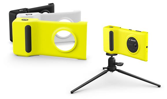 Nokia Camera Grip, tripod
