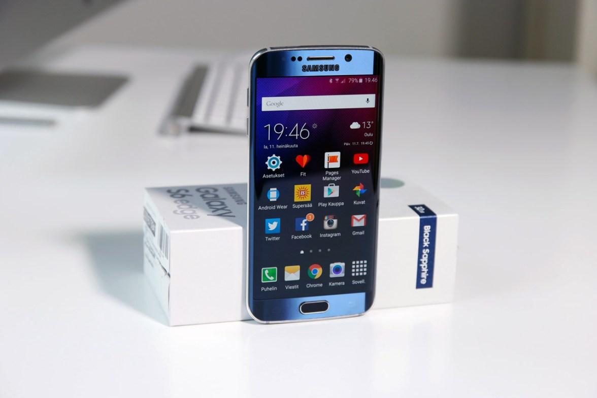 Yleisesti Samsung Galaxy S6 edge on edelleen loistavassa kunnossa.