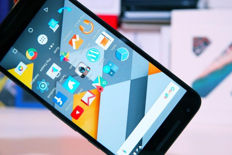 Nexus 5X, näyttö