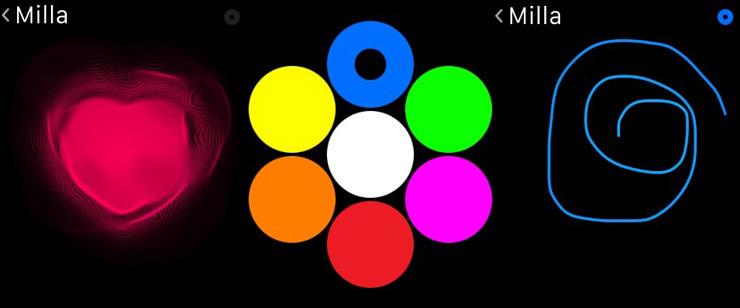 Apple Watch, digital touch