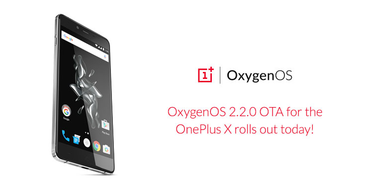 OnePlus X OxygenOS 2.2.0