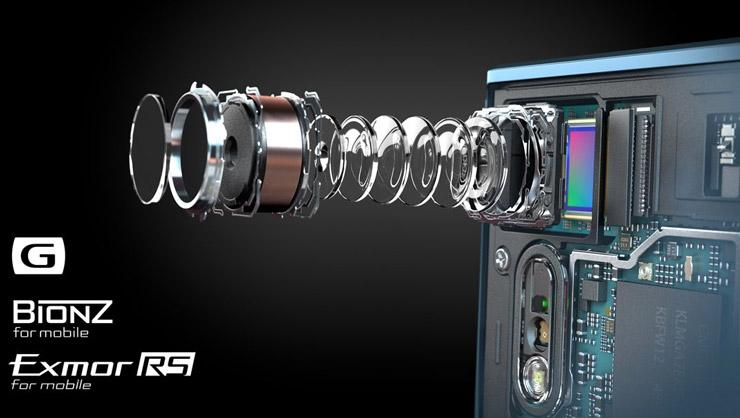 Sony Xperia XZ, camera