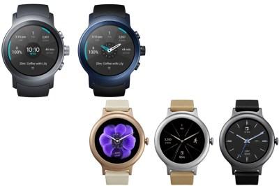 LG Watch Style ja Watch Sport