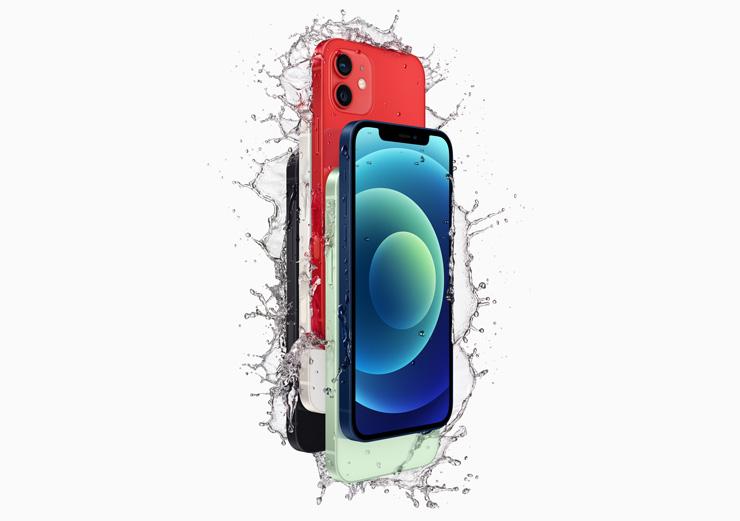 iPhone 12 vesitiivis
