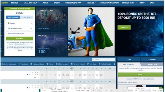 1XBet är den populära online bookie med stora sporter att satsa på även med cryptocurrencies