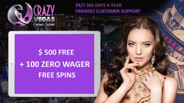 Crazy Vegas bonus