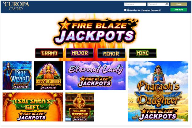 Europa Casino för svenska spelare att spela slots och live casino