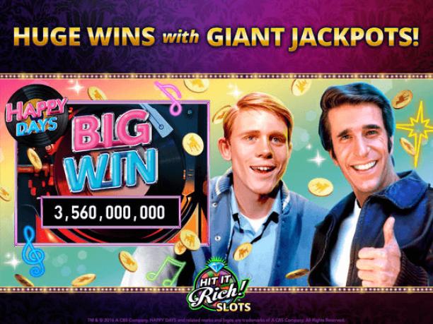 Hit it rich casino- spel