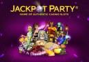Spännande utmaningar med Jackpot Party