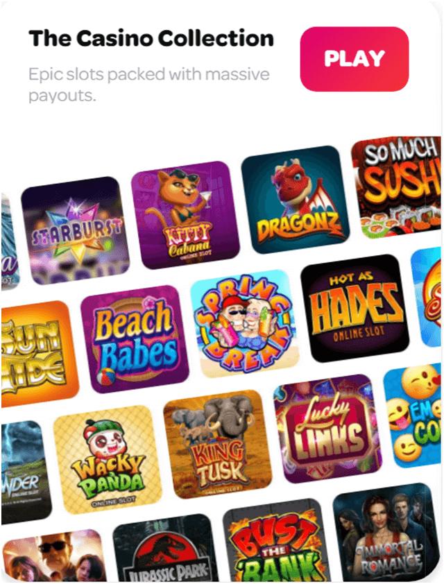 Snurra casinospel för att spela med mobil