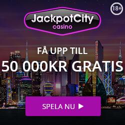 jackpot city fa upp till 50000kr gratis