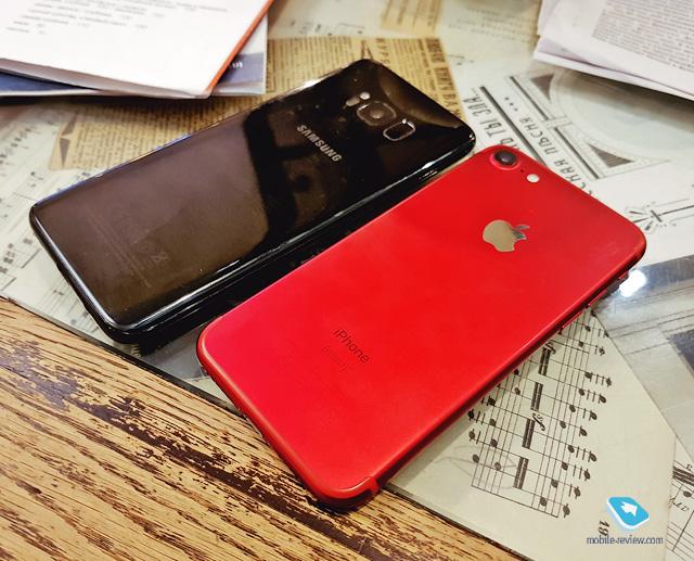 5 Гид покупателя. Сравнение iPhone 7 и Galaxy S8