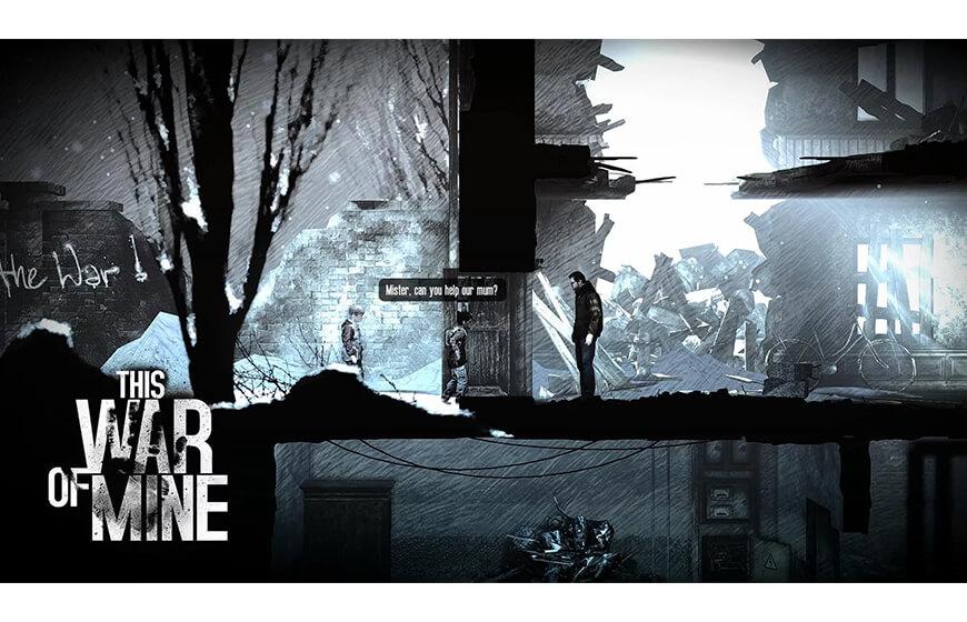 Android için This War of Mine savaş oyunu indir