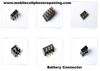 Mobile Phone Battery Connector