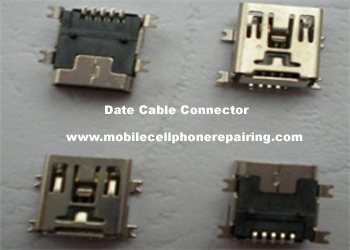 Data Cable Connector of Mobile Phone
