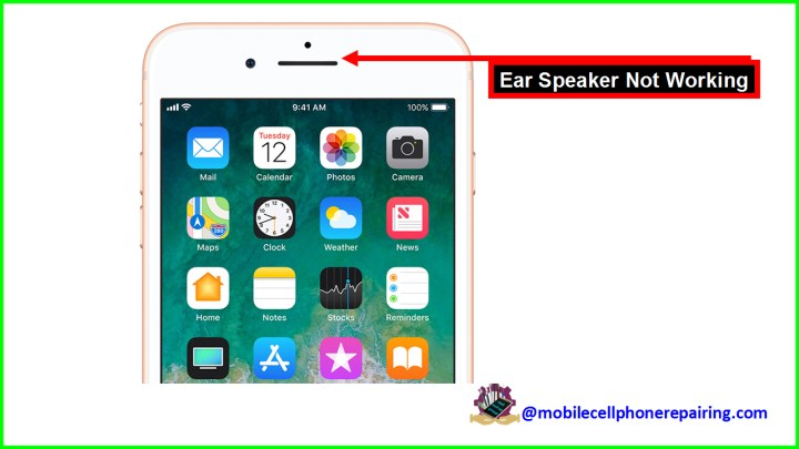 Mobile Phone Earpiece Problem & Solution | Speaker Not