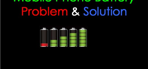 Mobile Phone Battery Problem