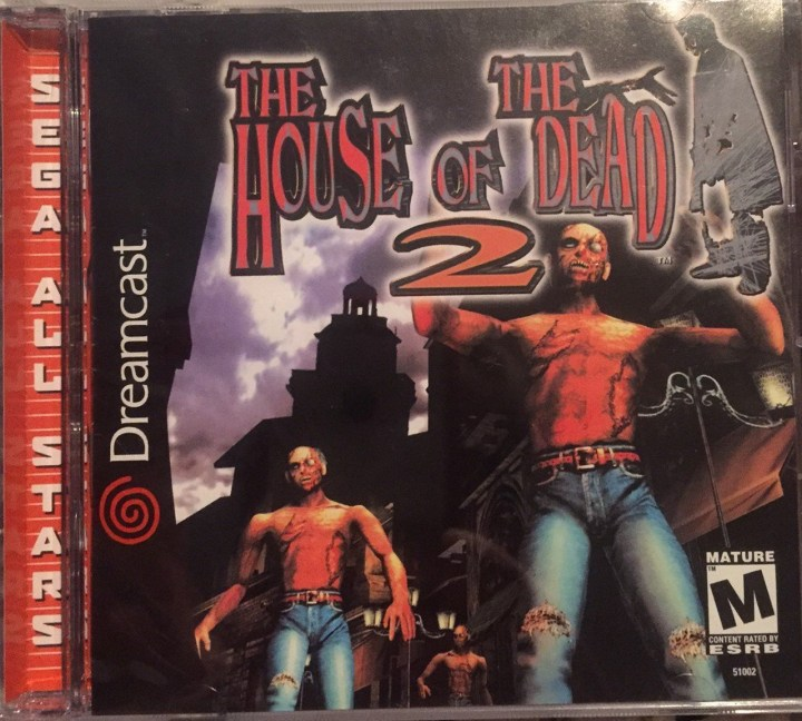 Best Sega Dreamcast Games - The House of the Dead