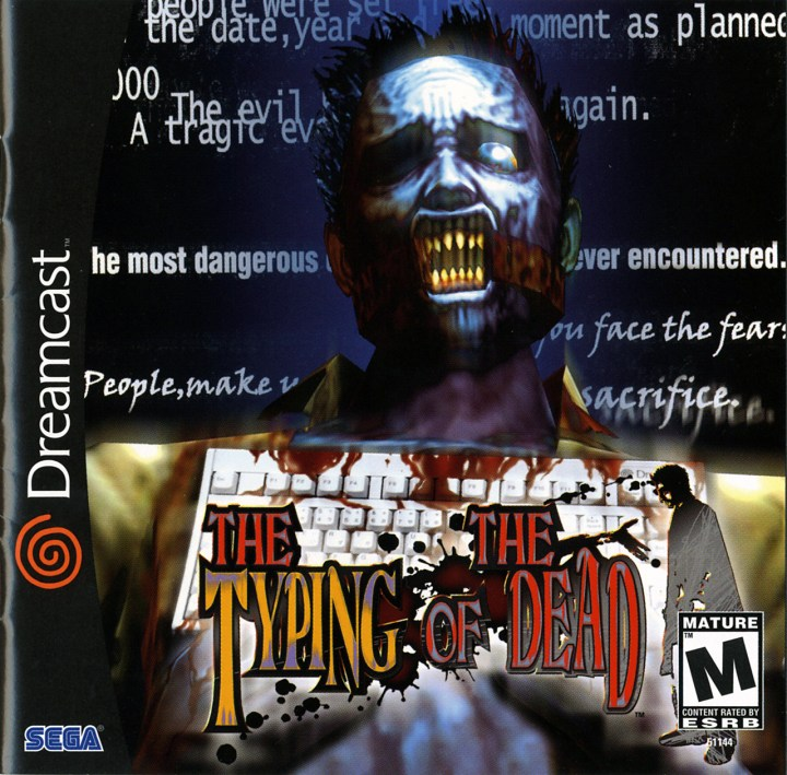 Best Sega Dreamcast Game - Typing of the Dead