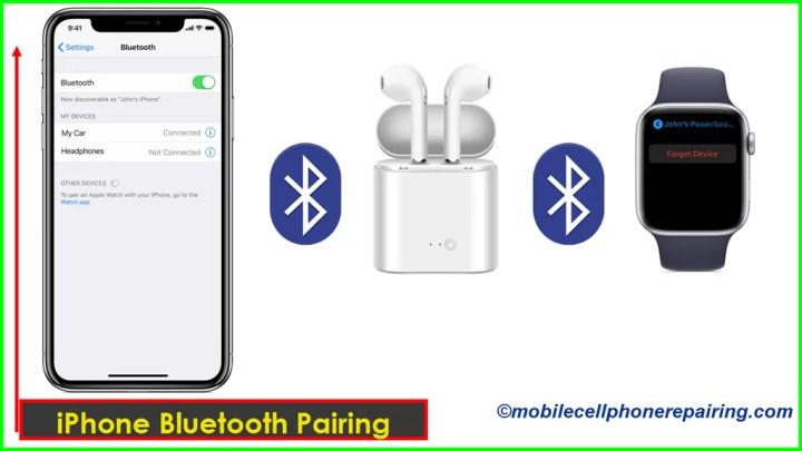 iPhone Bluetooth Pairing