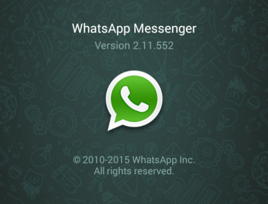 Updated version with Whatsapp Calling