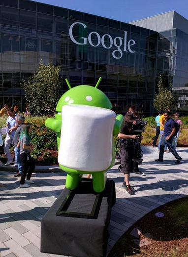 Google released Android Marshmallow three sample apps for the