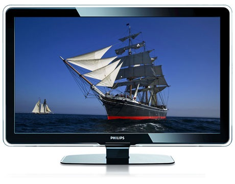 LCD TV Philips 47 PFL 7403 D Front