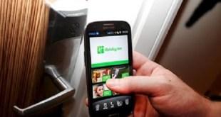 Smartphone Room Key App