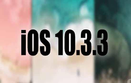 Apple Releases iOS 10.3.3 Beta 3