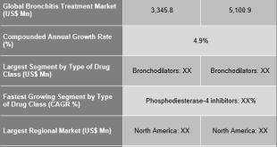 Bronchitis Treatment Market