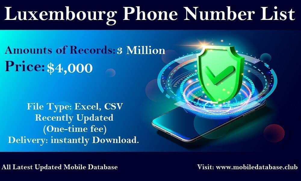 Luxembourg Phone Number List