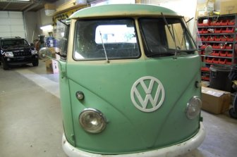 Front of VW