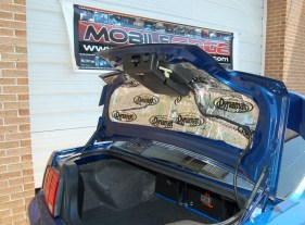 Mustang dynamated trunk