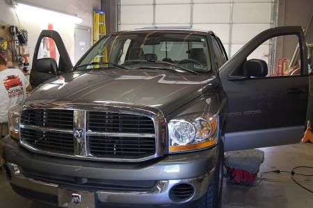Remote Start in 2006 Dodge Ram 1500 - sept 2008 a
