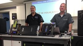 Mobile Edge Attends Audison Full DA Training in Phoenix, AZ