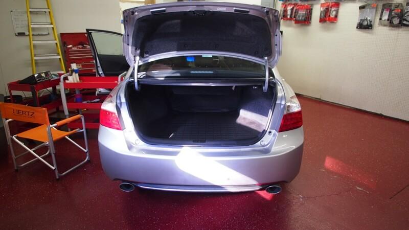Completed Honda Accord Audio Upgrade