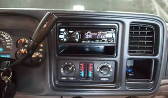 Chevy Avalanche Stereo System Was In Need Of Some TLC