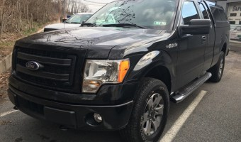 Ford F150 Audio and Tint Upgrades for Summit Hill Client
