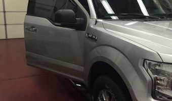 2016 Ford F-150 from Treichlers Gets Window Tint and More