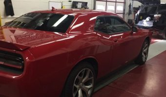 Tint and Remote Starter with DroneMobile for 2015 Dodge Challenger