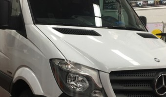 Mercedes-Benz Sprinter Backup Camera Installation For Walnutport Client