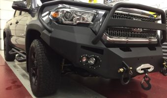 Elizabethville Client Adds Remote Starter to New Toyota Tacoma