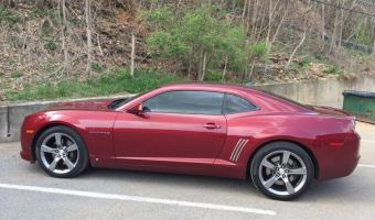 Chevrolet Camaro Window Tint for Repeat Lehighton Client