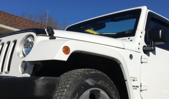Jeep Client From Palmerton Gets Wrangler Stereo Upgrades
