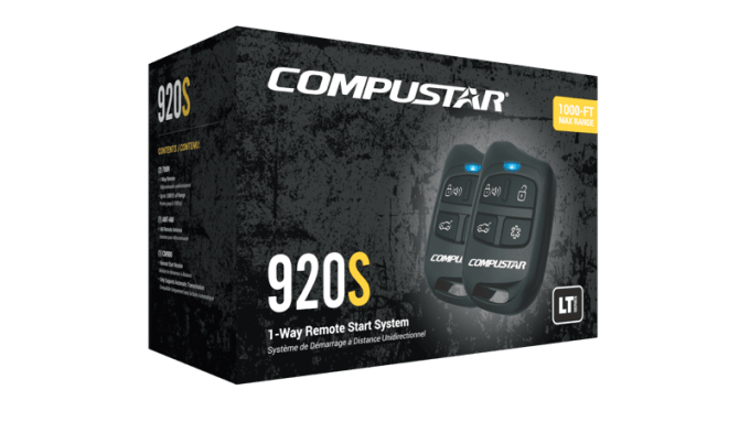Compustar CS920-S